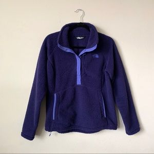 North Face Sheepeater Fleece Purple Pullover